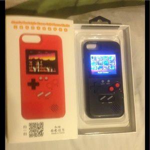 New! iPhone 6 gaming case Mario bros Pacman 36 gms